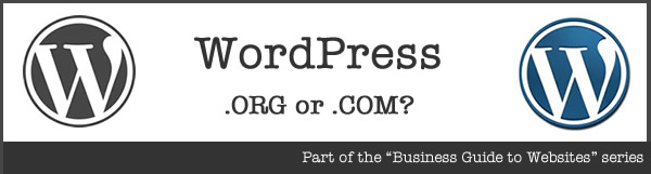 Wordpress.org v WordPress.com - the essential difference